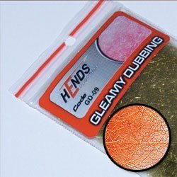 GLEAMY DUBBING - HOT ORANGE FLUO