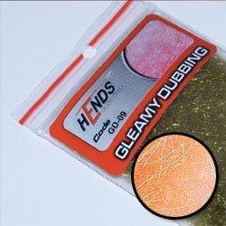 GLEAMY DUBBING - LT. ORANGE FLUO