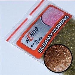 GLEAMY DUBBING - BROWN