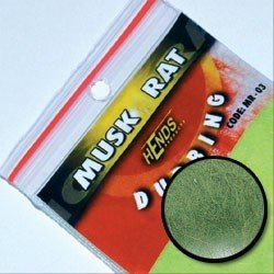 MUSKRAT DUBBING - GREEN GREY