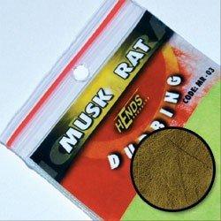 MUSKRAT DUBBING - GOLD OLIVE