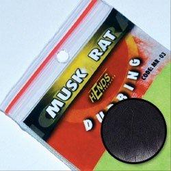 MUSKRAT DUBBING - BLACK