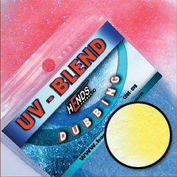 UV-BLEND DUBBING - LEMON YELLOW