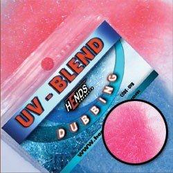 UV-BLEND DUBBING - RŮŽOVO - ČERVENÁ
