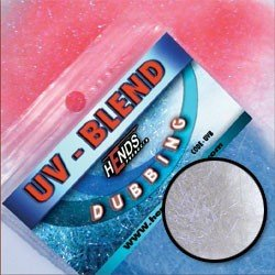 UV-BLEND DUBBING - ŠEDÁ