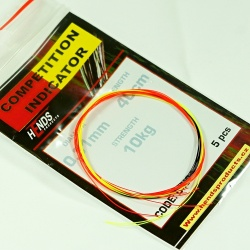 COMPETITION INDICATOR BICOLOUR - 5 pcs