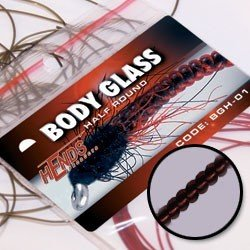 BODY GLASS HALF MICRO - CLARET