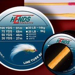 TUBE BACKING LINE - 20Lb / 50Yds - ORANGE FLUO
